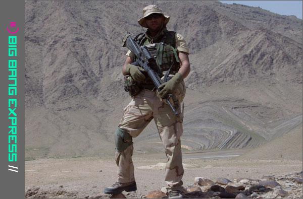 Allesio Felix in het leger