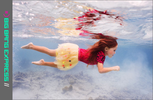 Onderwaterfotografie Noushta Koeckhoven: Julia