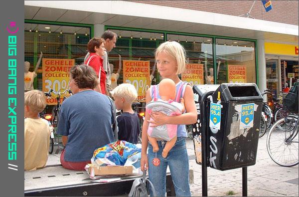 Nikita op 7-jarige leeftijd in Rotterdam