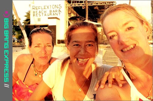 Madelon, Christel en Richelle