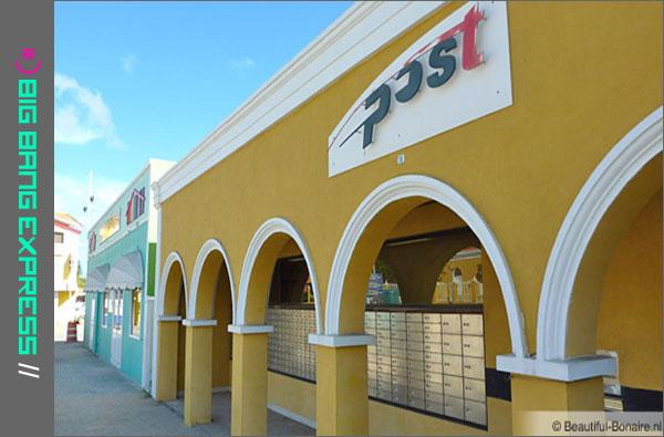 Bonaire - Postkantoor Kaya Grandi