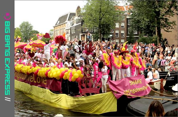 Koninkrijksboot Canal Parade Amsterdam